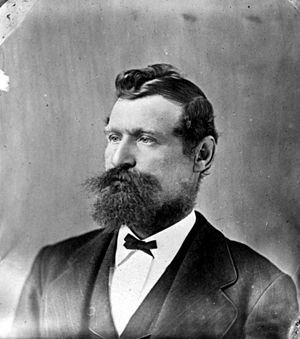 Cornelius Booth (politician) - Booth pictured in the 1870s