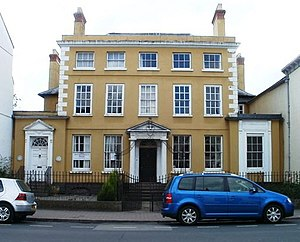 Monmouthshire Beacon - Cornwall House, where the editorial offices are located today