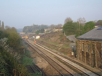 Corsham - There is a local campaign to reopen the railway station near Station Road
