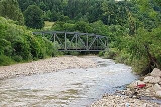 Sălăuța river in Romania