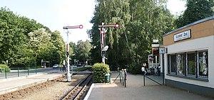 Cottbus Zoo - Image: Cottbus Bahnhof Zoo