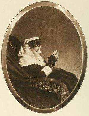 Wilhelmina FitzClarence, Countess of Munster - The Countess of Munster as portrayed on the frontispiece of her autobiography (published 1904)