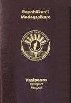 Visa requirements for Malagasy citizens - A Malagasy passport