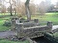 Coy Pond Gardens, cycle-footbridge - geograph.org.uk - 658897.jpg