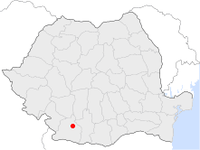 Location of Craiova