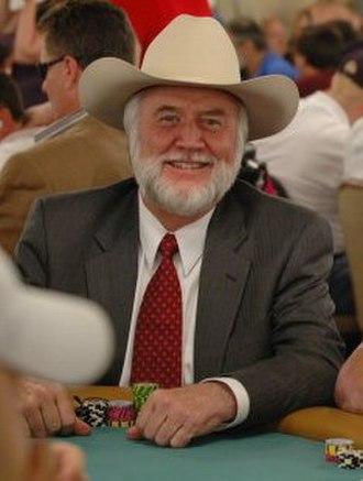 Crandell Addington - Addington at the 2005 World Series of Poker
