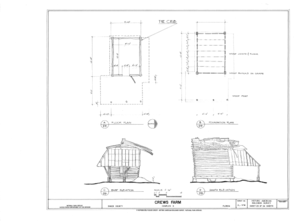 Crews Farm, Macclenny, Baker County, FL HABS FL-398 (sheet 23 of 24).png