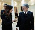 Cristina Fernández de Kirchner recibe a Celso Amorim.jpg