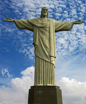 Cristo Redentor, statue on Corcovado mountain ...