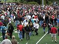 Crowd Disperses After 2006 Harrison Game.jpg
