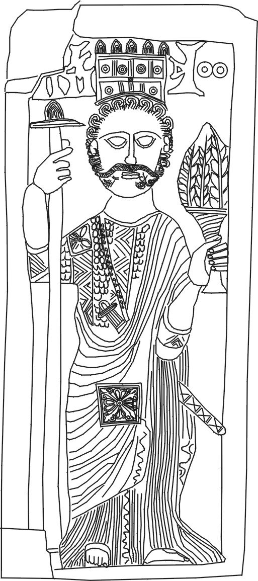 Crowned man, Zafar