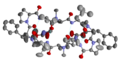 Crystal structure of modified Gramicidin S horizontally.png