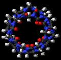 Cucurbit(7)uril (top) 3D ball.png