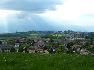Cugy - Cugy village