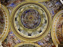 La cupola del Domenichino