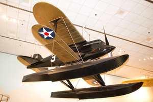 Curtiss R3C - Curtiss R3C-2 at the Barron Hilton Pioneers of Flight Gallery at the National Air and Space Museum, Washington, D.C.
