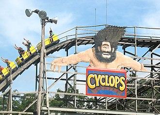 Cyclops (roller coaster) - Image: Cyclopscoaster
