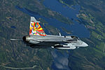 Czech JAS 39 Gripen in flight.jpg