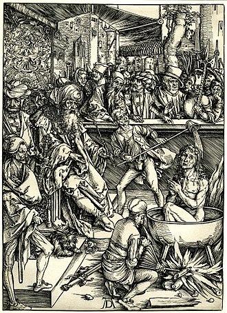 Apocalypse (Dürer) - Image: Dürer Apocalypse 1