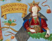 D. Constança de Portugal, Rainha Consorte de Castela - The Portuguese Genealogy (Genealogia dos Reis de Portugal).png