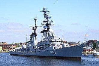 German destroyer Mölders - Museum ship Mölders