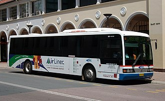 ComfortDelGro Australia - Deane's Buslines P&D Coachworks bodied Volvo B7RLE in Canberra in November 2009