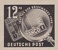 DDR-Briefmarke Debria 1950 12+3 Pf.JPG