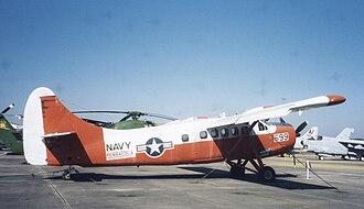 De Havilland Canada DHC-3 Otter - U.S. Navy U-1B (UC-1) Otter at NAS Pensacola, Florida, in 2002