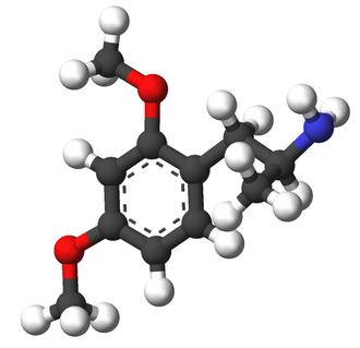 Dimethoxyamphetamine - Image: DMA 3d sticks