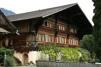 Därstetten - Knuttihaus im Moos