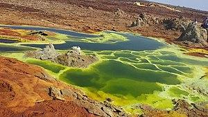 Dallol, Ethiopia - Hot springs in Dallol