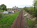 Dalrymple railway station (site), Ayrshire (geograph 6164577).jpg
