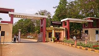Damanjodi Industrial Town in Odisha, India
