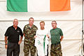 Damien Duff and his brother Sergeant Gerry Duff visit the troops of the Irish 106 Battalion in Tibnine Lebanon (7514326176).jpg