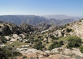 The Dana Biosphere Reserve in southern Jordan lies along the Jordan Trail, a hiking path that is gaining popularity Dana Reserve 07.jpg