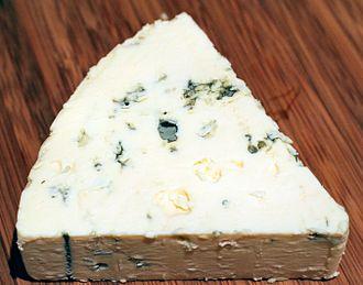 Danish Blue Cheese - Image: Danish Blue cheese