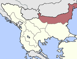 Location of Vilayet Tuna