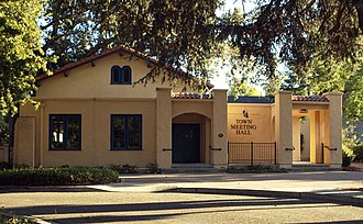 Danville, California - Town Meeting Hall
