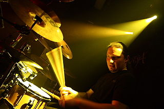 Dariusz Brzozowski Polish heavy metal drummer