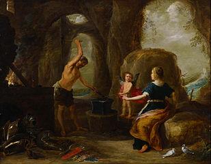 Venus Visiting Vulcan's Forge