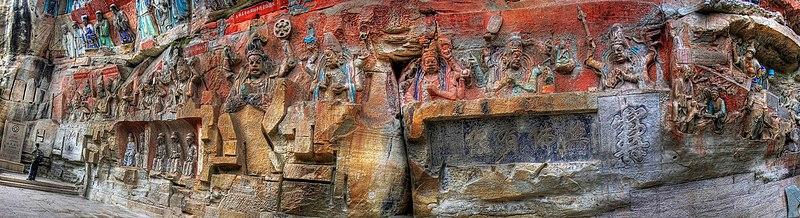 Dazu Shike Rock Carvings Chongqing People%27s Republic of China David McBride Photography-0362 02.jpg