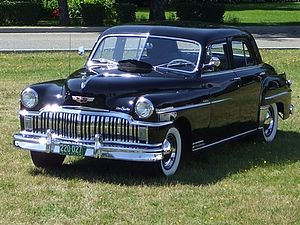 DeSoto Deluxe - Image: De Soto Deluxe 1949