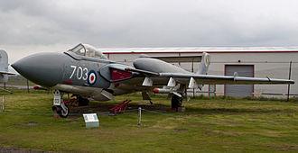 McDonnell Douglas F-4 Phantom II in UK service - de Havilland Sea Vixen