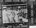 De prinsessen tijdens het bezoek aan de Marine Kazerne te Willemstad, Bestanddeelnr 914-1600.jpg