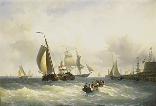 Anchorage at Bremerhaven