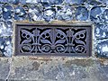 Decorative iron grill - geograph.org.uk - 251708.jpg