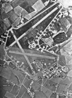 RAF Deenethorpe - Image: Deenthorpe 28 may 1947