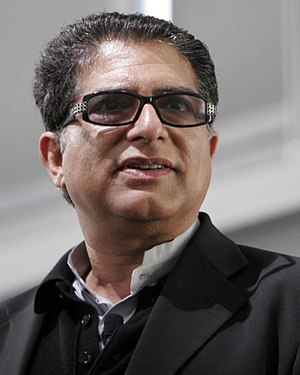 English: Deepak Chopra in November 2006, speak...