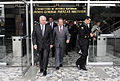 Defense.gov News Photo 100415-F-6655M-005 - Secretary of Defense Robert M. Gates and U.S. Ambassador to Colombia William R. Brownfield depart the Colombian Ministry of Defense after.jpg