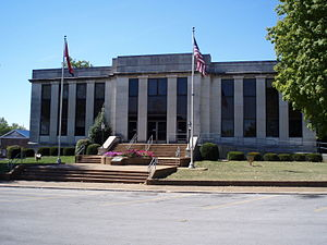 DeKalb County, Tennessee - Image: Dekalb county tennessee courthouse
